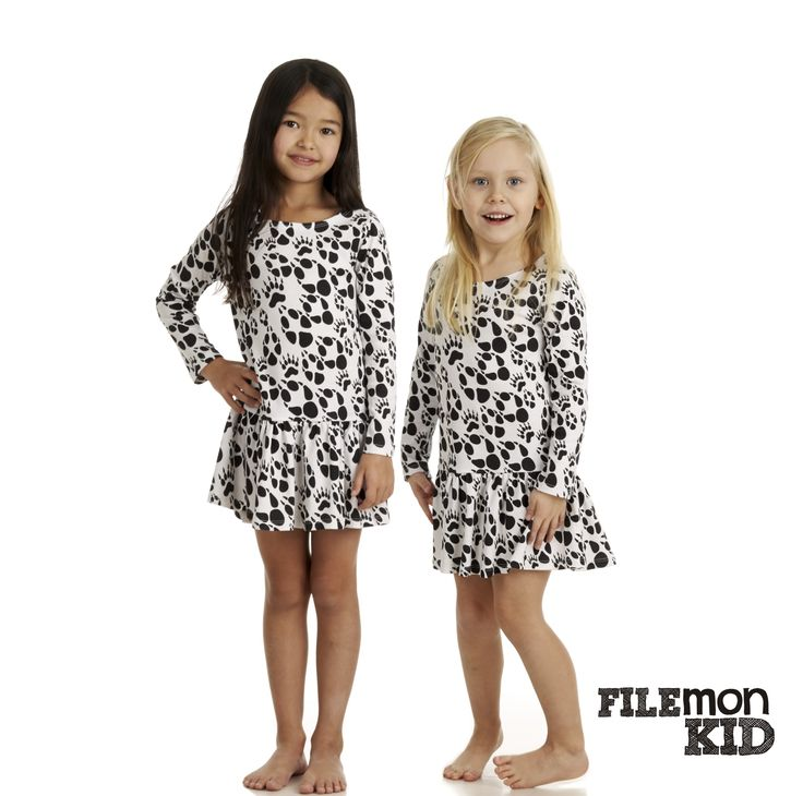 Dress Paws 100%organic cotton, GOTS certified Size 80/86-128/134