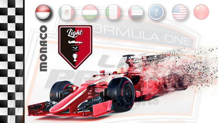 AO VIVO - F1 2016 - GP DE MONACO - CAT. PC LIGHT - LIGA PRORACE E-SPORTS...