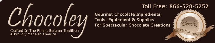 Chocoley: Gourmet Chocolate Ingredients, Tools, Equipment & Supplies for Spectacular Chocolate Creations. Crafted in the finest Belgian tradition and proudly made in America.