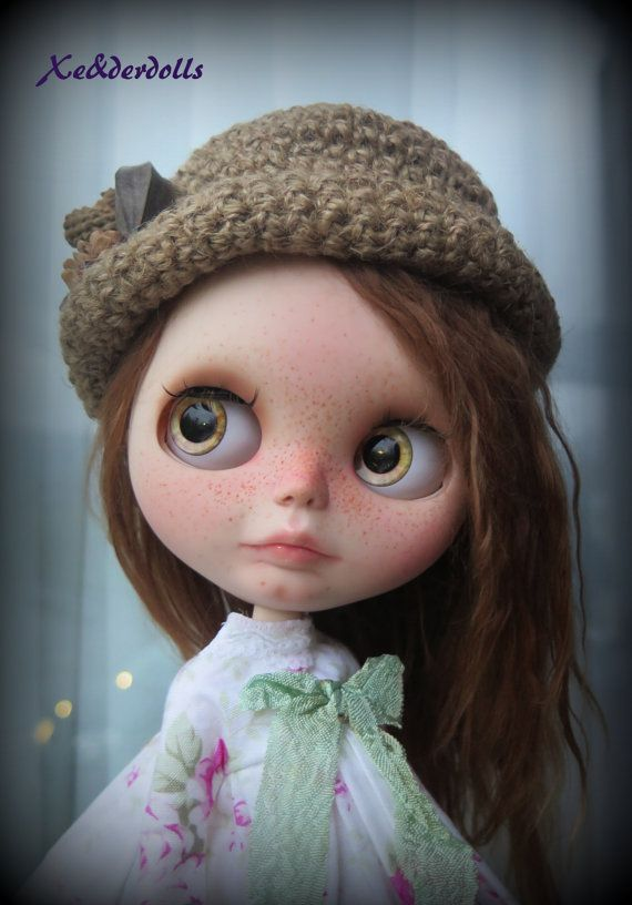 Custom order for J. OOAK custom  blythe doll with by XeiderDolls