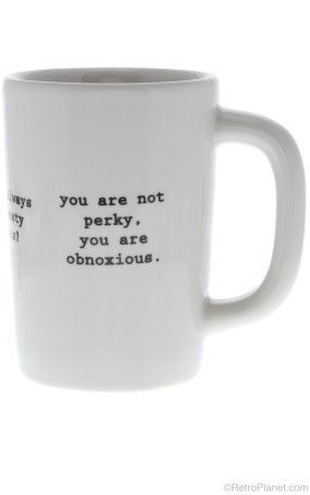 If I worked in a real office and not from home I would so buy this mug.