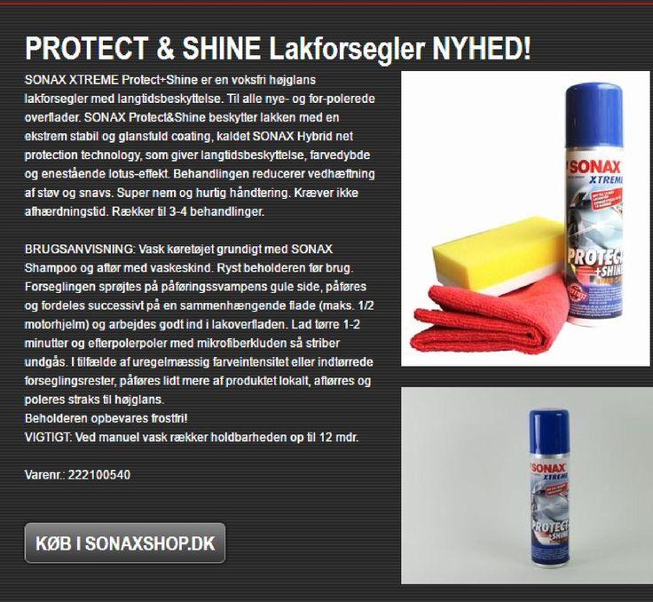 Lakforsegler - Protect & Shine fra Sonax