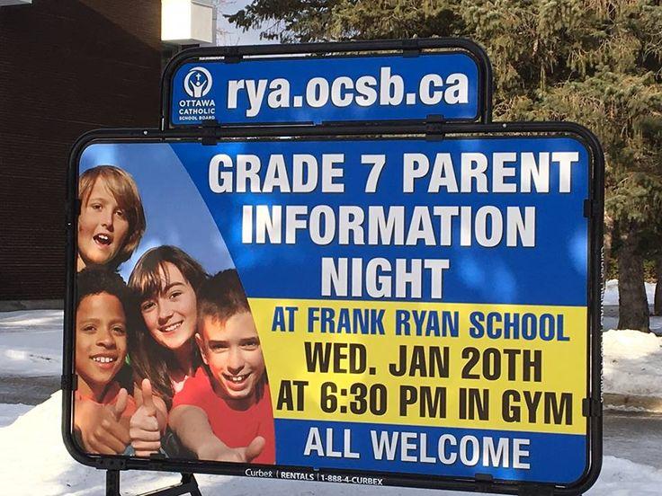 Grade 7 Parent info night