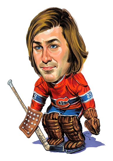 Ken Dryden ...artwork by www.ExaggerArt.com
