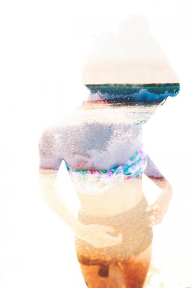 Casey Liu, double exposition, photographe, photographie, photographie argentique