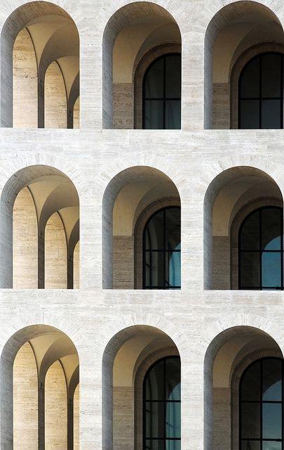 Rome, Palazzo della civiltà italiana (Italian Civilization Palace)