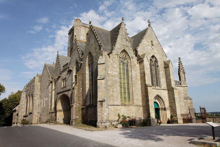 Collégiale Notre-Dame de Grande Puissance, à Lamballe.