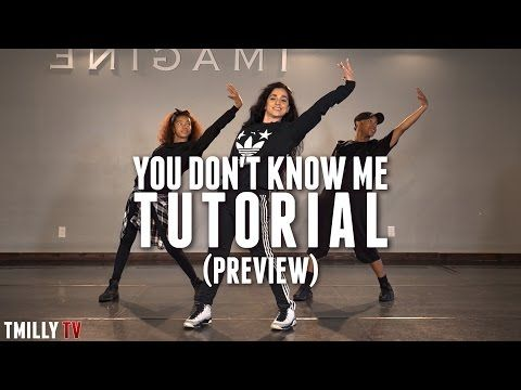 Dance Tutorial [Preview] Jax Jones - You Don't Know Me ft RAYE - Choreography by Eden Shabtai - YouTube