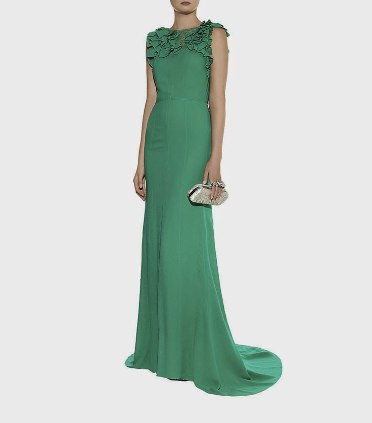 Best Evening Dress of 2014. The #Nina #Ricci #Silk Ruffle Gown ...