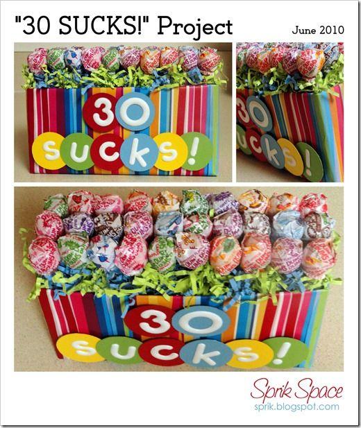 30 SUCKS - 30th birthday present