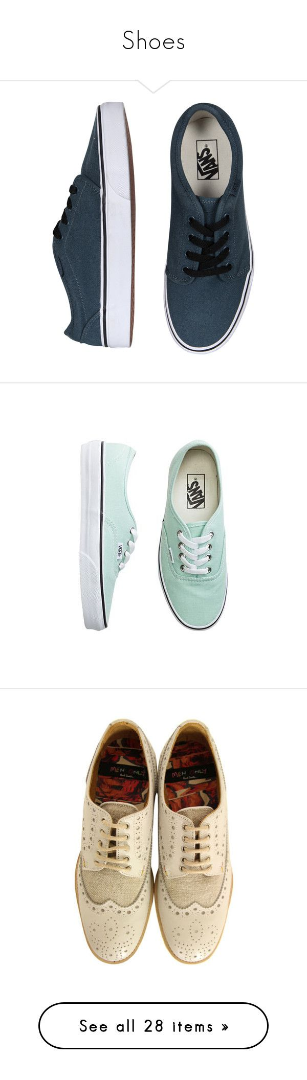 """Shoes"" by ltylerrr ❤ liked on Polyvore featuring shoes, sneakers, vans, tenis, women, vans sneakers, vans shoes, white sneakers, white trainers and white shoes"