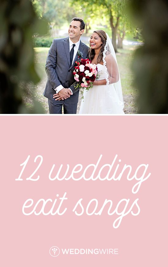 12 Wedding Exit Songs - Searching for the perfect postlude song for your big day? From Florence +  the Machine to Justin Timberlake, check out our exit song playlist on WeddingWire! {Nicolette Moku Photography}