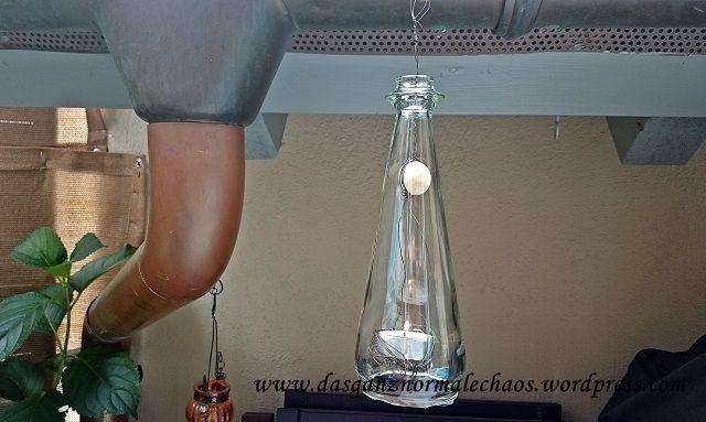 DIY Teewindlicht aus Altglasflaschen