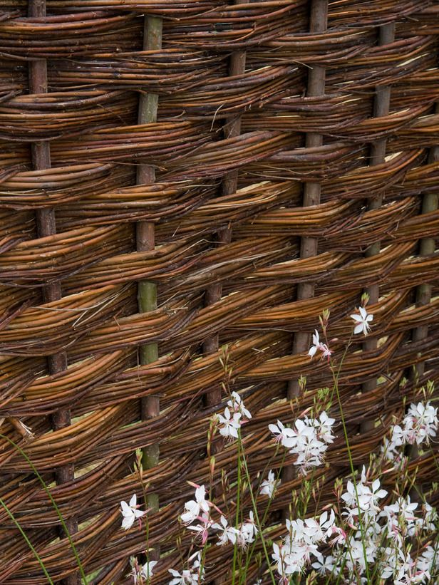 73 best Willow Fences images on Pinterest Wattle fence Garden