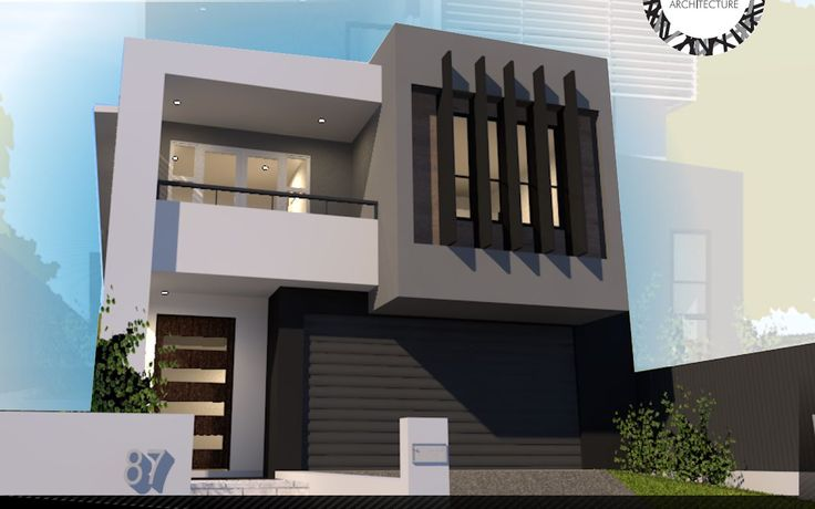 A small lot design for a property in Greenslopes by Focus Architecture.