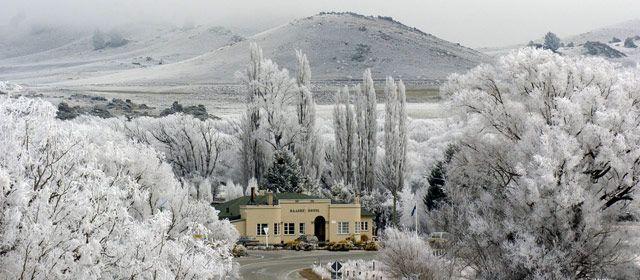 Ophir in Winter