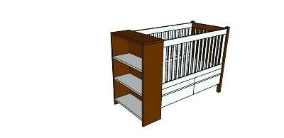 40 best images about Crib Plans - Cradle Plans on ...