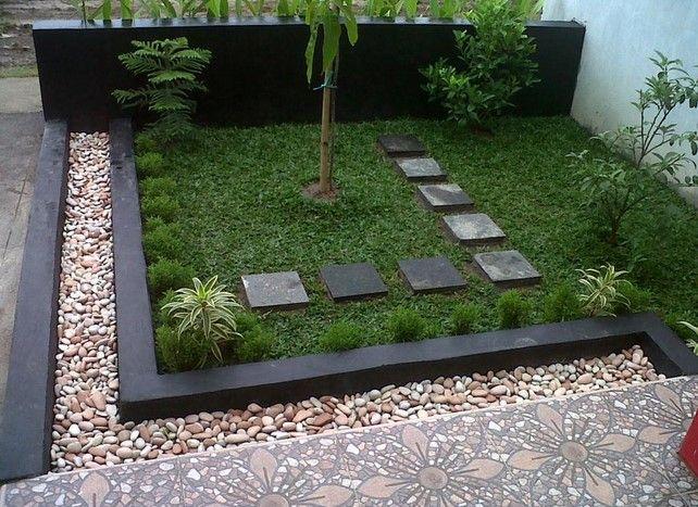 Contoh Gambar Taman dan Teras Rumah Minimalis type 36 45 10
