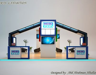Stand exhibition for HEPO YAPI company