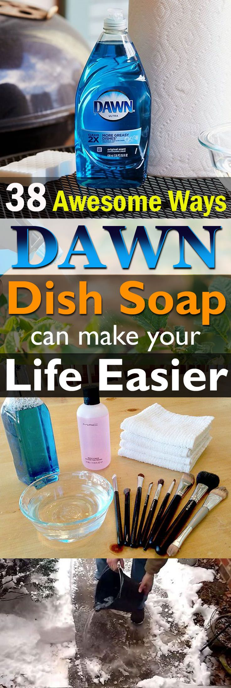 These Dawn Dish Soap uses are so effective, can save your time and money and make your life easier!