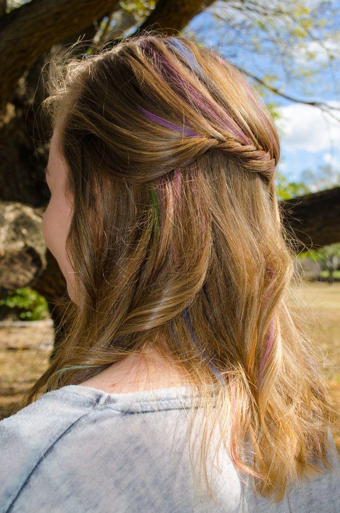 French Braid with Twist - Boho/ Beach/ Summer hair styles