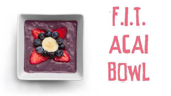 There is nothing better then starting your day with a good kick of nutrients. That's why I always focus on having a delicious breakfast that will give me lots of energy for the day. My F.I.T. Superfood Acai bowl recipe will do just that. Acai is absolutely packed with vitimins and minerals making it a true superfood. I've…