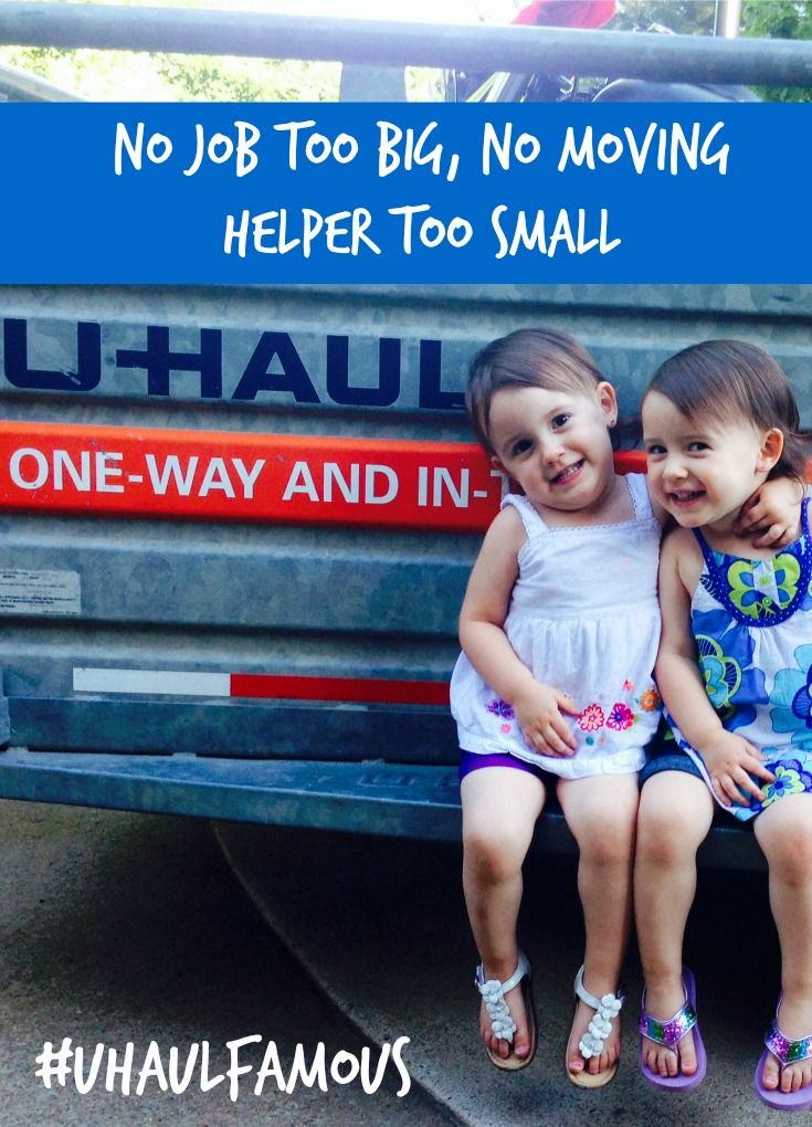 """No job too big, no moving helper too small.""-- Do you have some moving helpers that you would like featured on a moving truck?  Submit any photo related to your U-Haul adventure or move and it could be part of the moving experience for future generations of U-Haul moving customers just like you. 