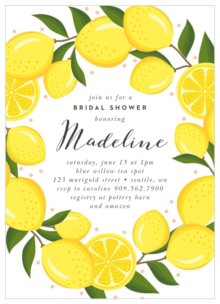 Set the stage for a bright and cheery shower with our ...
