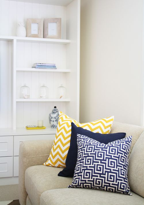 Chevron And Print Cushions Home Styled By Simone