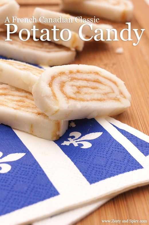 A French Canadian Classic: Potato Candy -> http://zestyandspicy.com/desserts/classic-potato-candy/