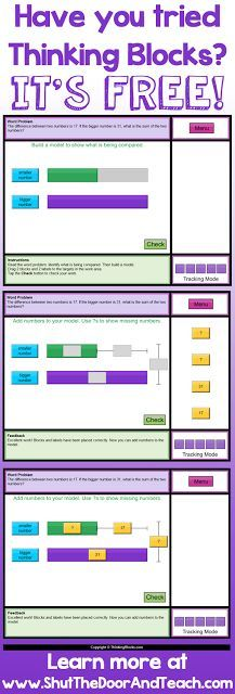 Shut the Door and Teach: Math in Focus Chapter 3: Bar Modeling for Word Problems