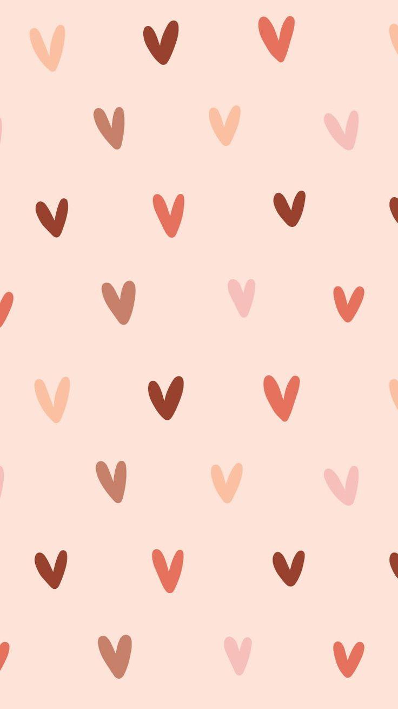 Free FebruaryThemed Phone Wallpaper Peach wallpaper