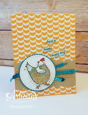Sootywing Studios: Hey Chick SAB: Stampin' Up! Artisan Blog Hop