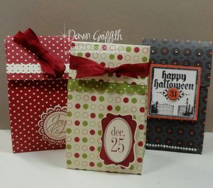 Cute boxes - Dawn Griffith - video to make these boxes - Oct 2010