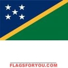 2' x 3' Solomon Islands High Wind, US Made Flag