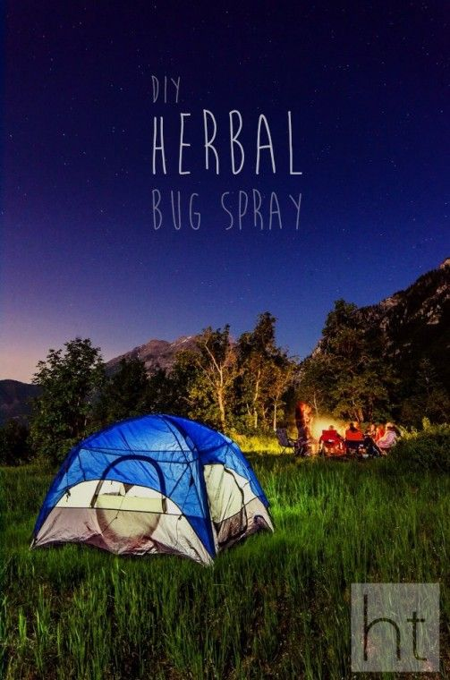 DIY Herbal Bug Spray