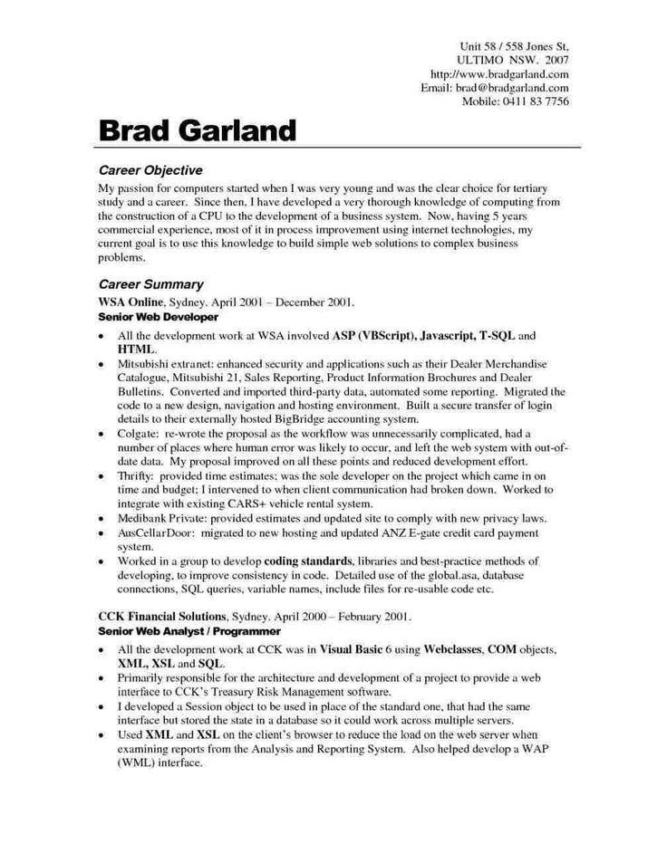 Resume Templates Quora ResumeTemplates Career