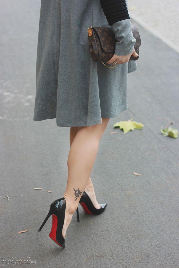 Louboutin Pigalle 120 with Louis Vuitton Favorite Bag  DeLaFashiva Fashionblogger