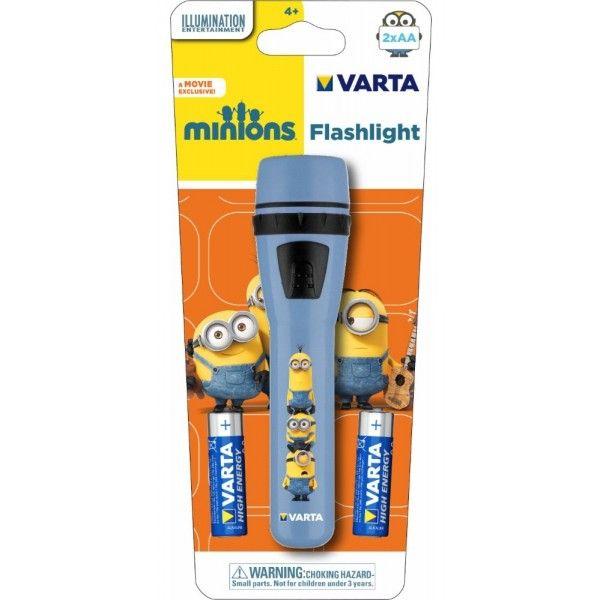 Latarka z Minionkami od Varty. Varta Minions Flashlight.