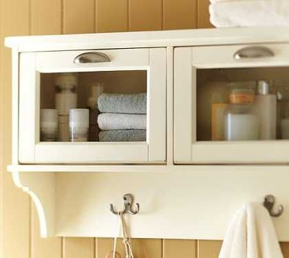 Armarios para baños pequeños   Baño - Decora Ilumina ARMARIOS COLGANTES   de stilo country o colonial