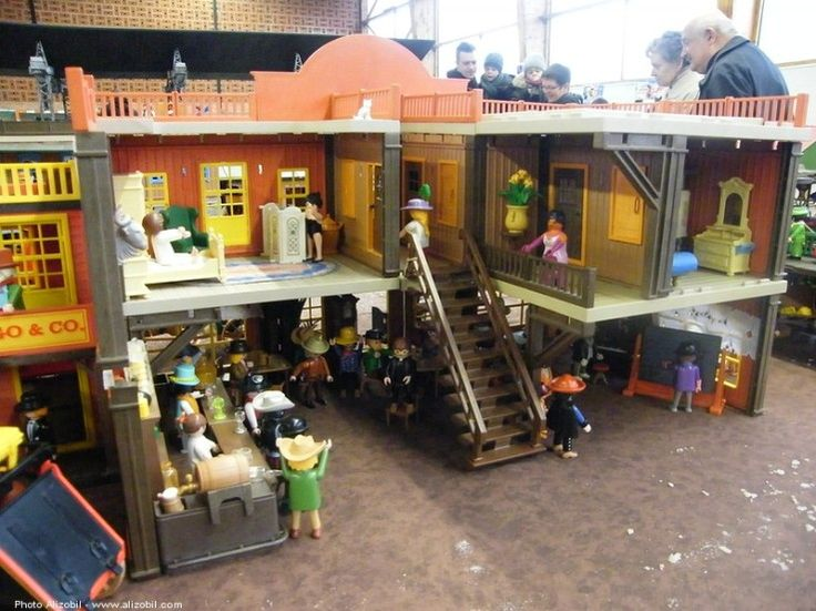 17 best ideas about playmobil western on pinterest for Salon western