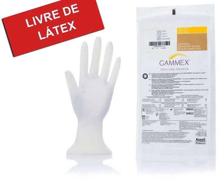 LUVA CIRÚRGICA PAR 7.5 S/PÓ GAMMEX SENSITIVE ANSELL   Melhor Preço! - Cirúrgica Joinville   Produtos Médicos e Hospitalares