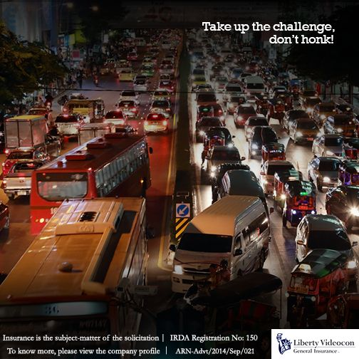 Establish your prowess as a driver by making your way through the worst traffic jams without using the honk. #HornNotOKPlease