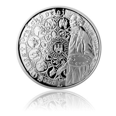 Stříbrná medaile Staroměstský orloj - Vodnář proof | Česká mincovna