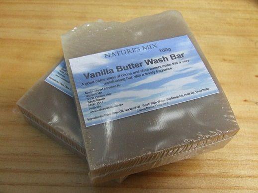 Vanilla Butter Wash Bar