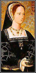 Princesa María Tudor, la hija más joven superviviente de Enrique VII y la reina Isabel de York.