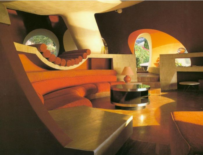 Summer House Of French Fashion Designer Pierre Cardin, In The South Of  France Called Palais Bulle, And Was Designed By Antti Lovag.