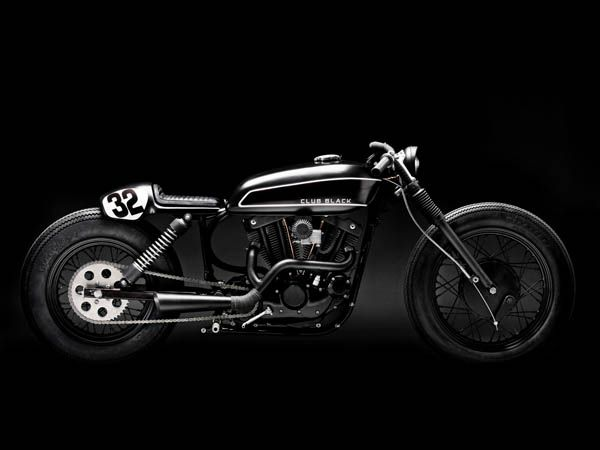 Harley Sportster? Wow!Harley Davidson, Motorcycles, Wrenchmonkees, Cafes Racers, Club Black, Motorbikes Gallery, Davidson Sportster, Harleydavidson, Clubblack