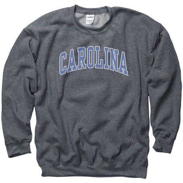 North Carolina Tar Heels Adult Classic Arch Crewneck Sweatshirt ($25) ❤ liked on Polyvore featuring tops, hoodies, sweatshirts, crew neck sweatshirts, sports sweatshirts, sports crew neck sweatshirts, sport sweatshirts and crewneck sweatshirt