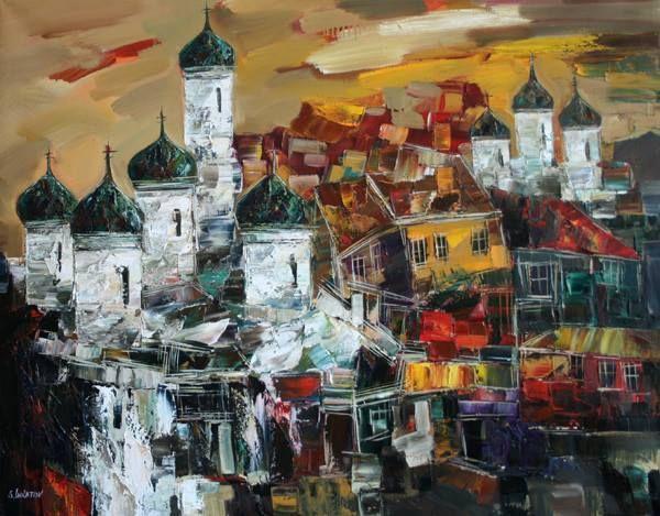 Painting by Sergei Inkatov